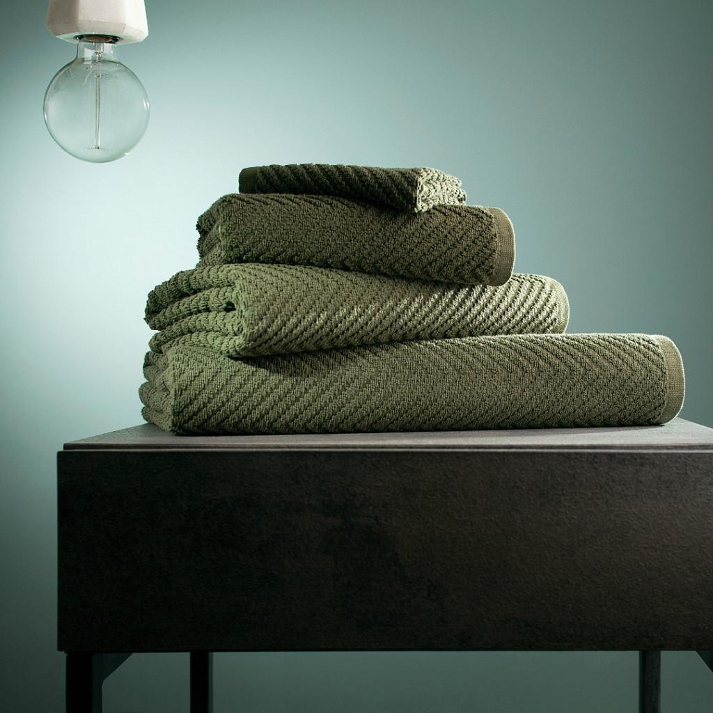 Toalha Treatment Unicolor Indanthren Hotel Verde 100% Algodão