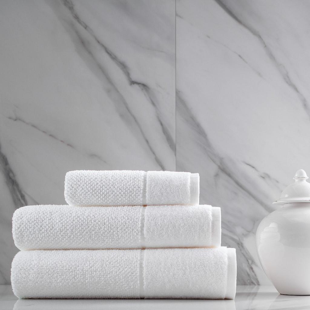 Coleção Novo Hotel Wash Branca 90% Algodão e 10% Poliéster