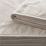 Cobertor Aspen Hotel Bege