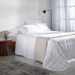 Lençol Hotel 300 Fios Branco 100% Algodão